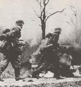Grenadiers of 2 SS diviision 'Das Reich'