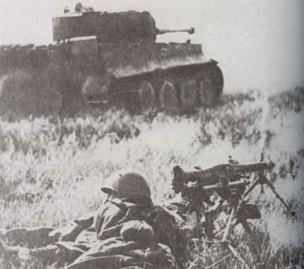 Italian MG42 gunners
