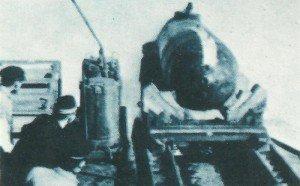 small submarine Kaiten Type 1