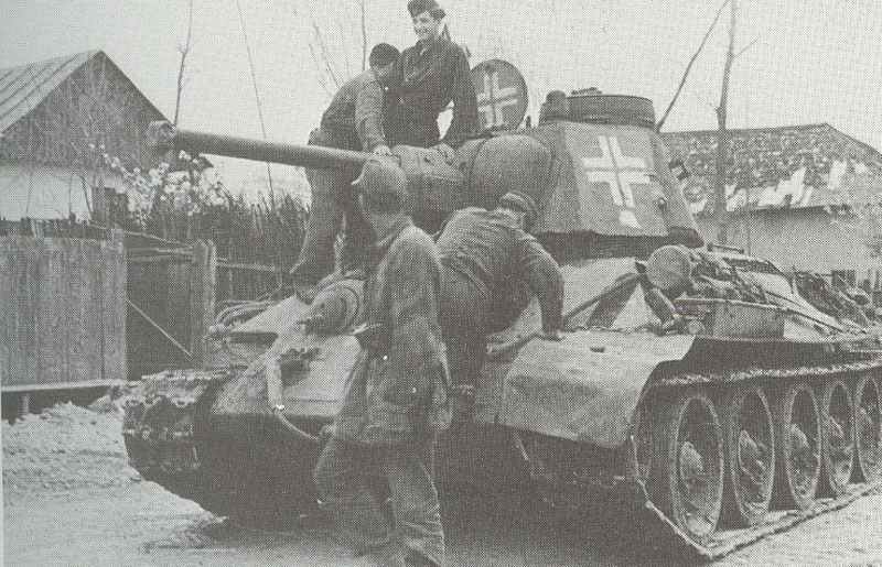 captured Model 1943 in use with the German Army
