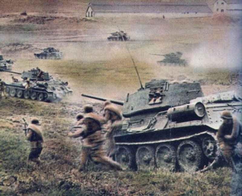 T-34 tanks near Odessa 1944