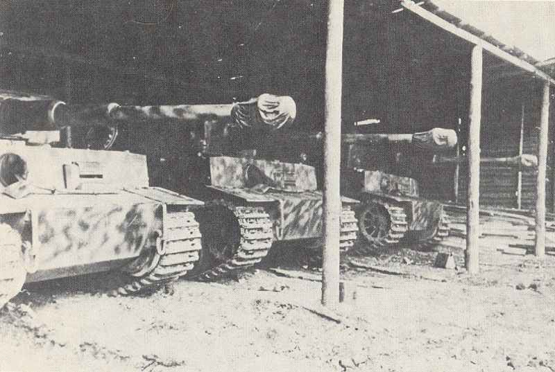 PzKpfw VI Ausf.E in the deployment.