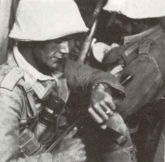 Sergant of the Panzergrenadiere of the German Africa corps