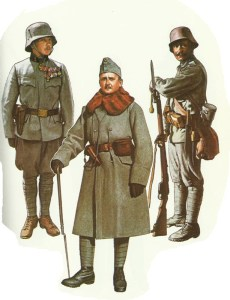 Austro-Hungarian infantry 1915-1918