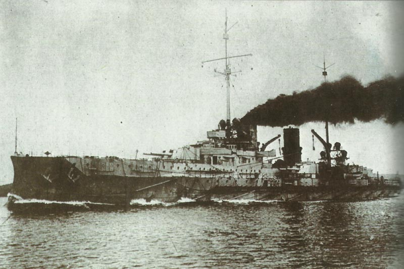 Armoured cruiser Blücher