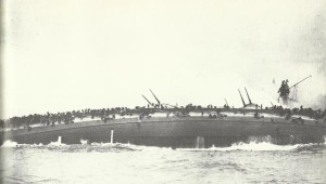 sinking of Blücher in the Battle of the Dogger Bank