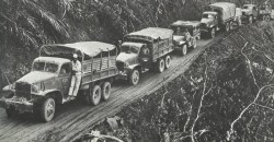 US convoy on Ledo Road