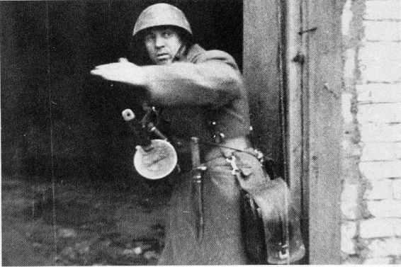 Assault leader at Stalingrad.