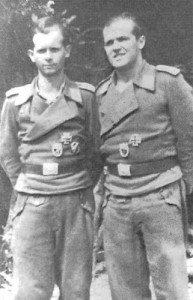 Two members of an StuG crew