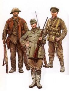 British army 1914-1918