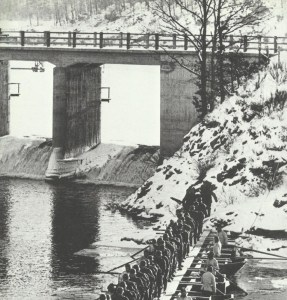 exercise of German troops in the Eife
