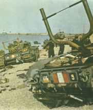 Churchill tanks at Dieppe