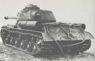 Stalin tank IS 2 rear view