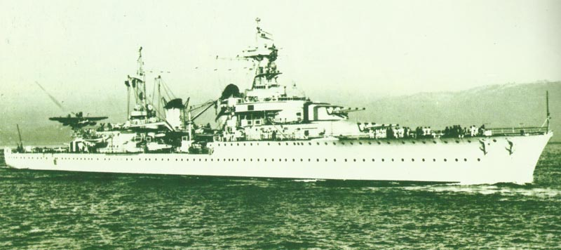 light cruiser 'La Galissonnière'
