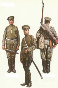 Russian soldiers 1914-1917