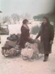 Fleeing from Eastern Germany