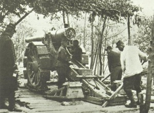 French six-inch gun