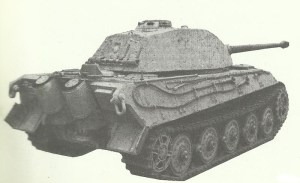 King Tiger with Porsche turret