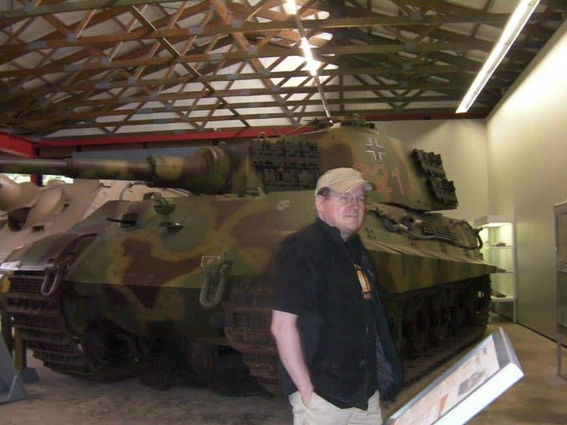 King Tiger in Panzermuseum Munster