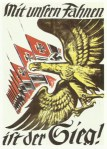 Nazi poster at the beginning of the war