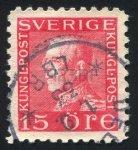 Post stamp King Gustav