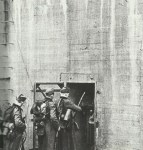 German soldiers occupy bunker Siegfred Line