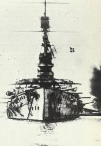 HMS Cornwallis at Dardanelles