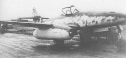 Me 262 A-1a of KG (Jagd) 54