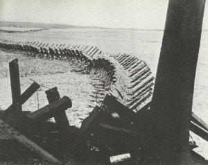 Tank obstacles German-Belgian border