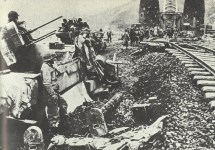M16 Multiple Gun Motor Carriage protect Remagen bridge