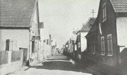 German village shows the white flag