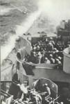 Kamikaze attack on Missouri