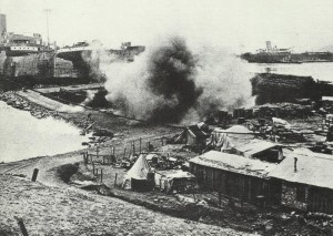 River Clyde on the beach of Gallipoli