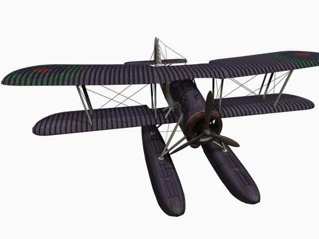 3D model Fairey Swordfish
