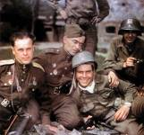 Americans and Russians meet at Torgau