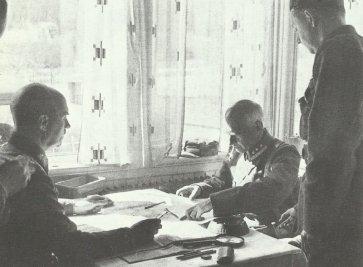 Norwegian brigade commander surrenders