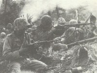US Marines in battle