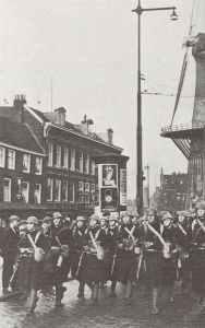 Marines of the Rotterdam garrison