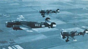 ^D.XXI fighters escorting Fokker T.V heavy bomber