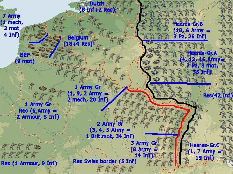 Frankreichfeldzug 2. Weltkrieg