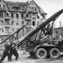 Loading the rocket launchers
