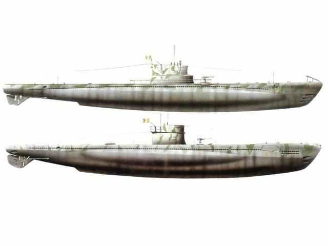 Italian submarines 600 class
