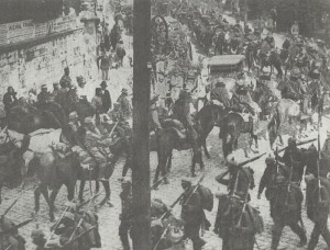 German troops enter Przemysl