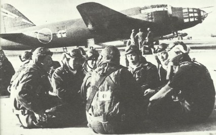 kamikaze pilots waiting for their mission