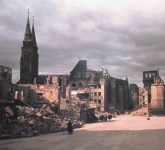 The ruins of Nuremberg after the war.