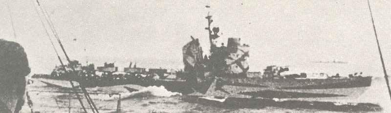 Torpedo boat of Spica class.