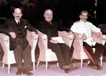 The 'Big Three' Allies at the Potsdam Conference