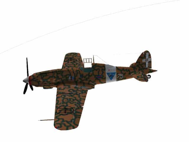 3d model C.202 Folgore