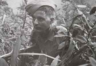 The Tommy gun in Burma.