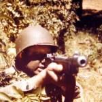 GI Thompson sub-machine gun